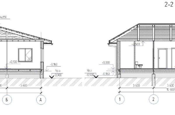 дом 110м планировки